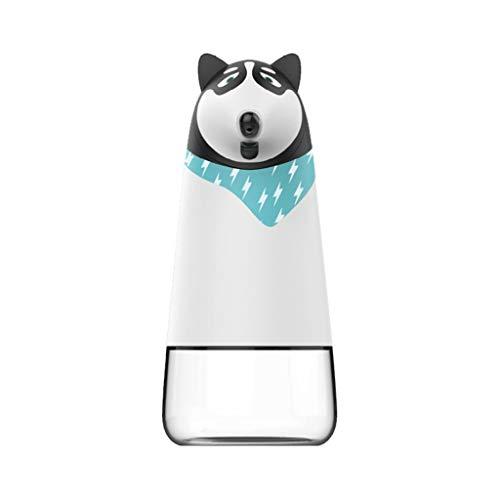 FXJ Dispensador de jabón De los niños de inducción de Espuma de Lavado de Burbujas de teléfono del hogar del bebé de Lavado Móvil Botella de jabón (Color : Husky)
