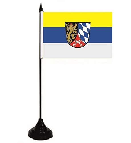U24 Tischflagge Oberpfalz Fahne Flagge Tischfahne 10 x 15 cm