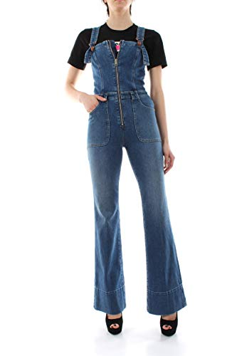 Diesel 00SBR7 DE-Think Latzhose Damen Denim MEDIUM Blue XS