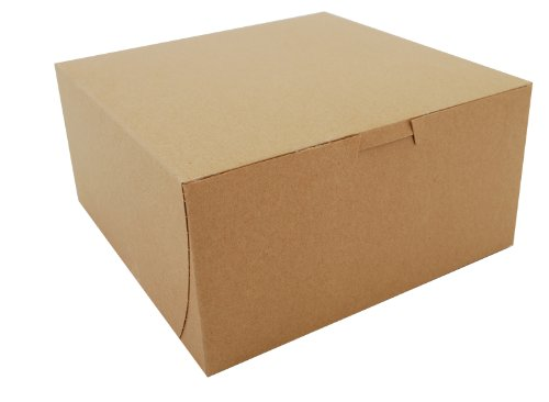 Southern Champion Tray 0941K Kraft Paperboard Non Window Lock Corner Bakery Box, 8