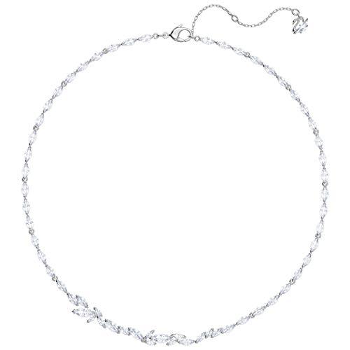 Swarovski Damen-Kragen Halskette Edelstahl Kristall 5419235