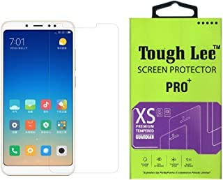 Tough Lee Tempered Glass Screen Guard Gorilla Protector for Mi Redmi Note 5 Pro with Easy Installation Kit (Full Screen Coverage Except Edges - 11D Temper) (Transparent) (Pack of 1)