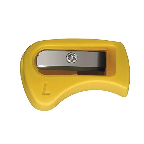 Este afilador está hecho para zurdos. Su forma ergonómica garantiza una sujeción segura. El sacapuntas es adecuado para el gráfico STABILO EASY y los colores fáciles de estar.