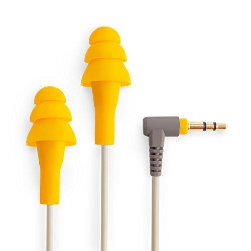 Ruckus Earplug Earbuds | OSHA Compliant Noise Reduction in-Ear Headphones : Isolating Ear Plug Earphones