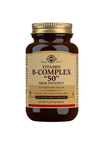 "Solgar Fórmula Vitamina B-Complex""50"" - 100 Cápsulas vegetales"