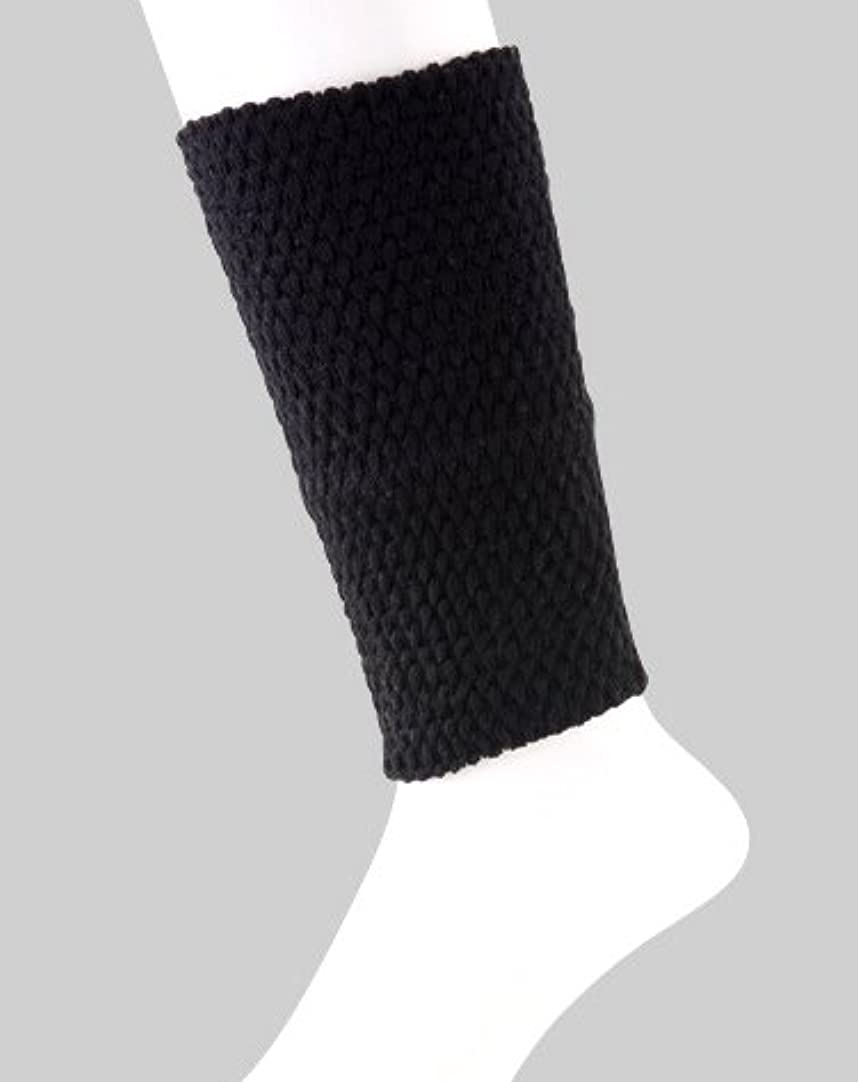 風味乳剤バランス日本製 足首ウォーマー 表綿100% 二重構造で暖かい 春夏 冷房対策 20cm丈 (ベージュ)