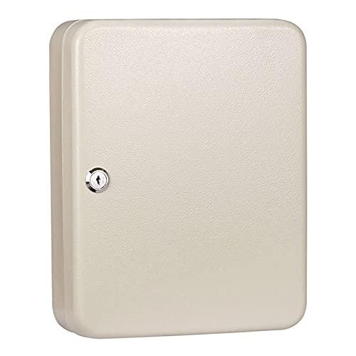 JKMINSA Caja de almacenamiento de gestión de llaves montada en la pared, 20 llaves, es muy adecuado para el hogar/oficina/negocio