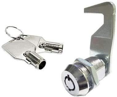 Toolbox Lock 5/8' Tubular Cam Lock Replacement 180 Degree Cabinet Drawer