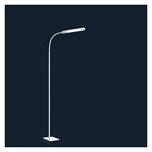 xinxinchaoshi Lámpara de pie Luz de Piso LED Ajustable, Lámpara de pie Regulable de Lectura Regulable para Coser Pintura Piano Sala de Estar Dormitorio Oficina Lámpara de Pie Moderna