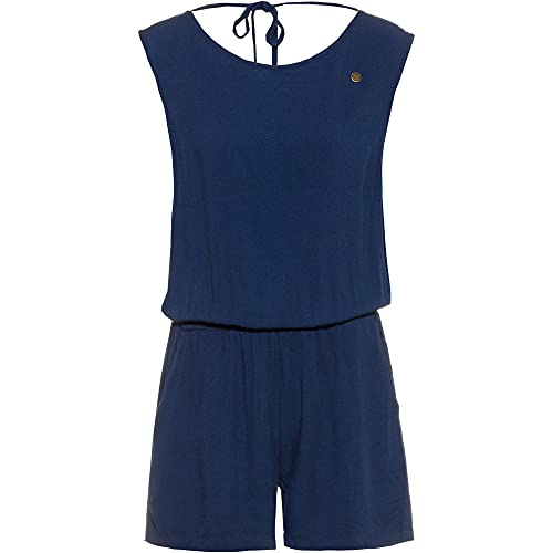 Ragwear Damen Zella Jumpsuit blau L