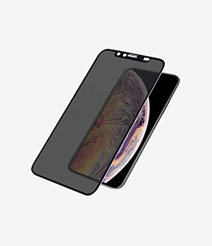 PanzerGlass \'Edge-to Edge\' Privacy Displayschutz (Case Friendly) mit CamSlider für Apple iPhone XS Max, Black