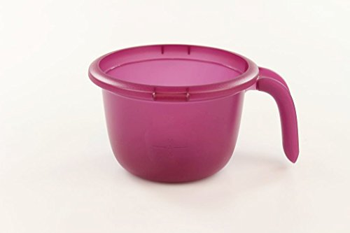 TUPPERWARE Mikrowelle Micro Porridge Maker Haferbrei 550ml lila ohne Deckel 16866