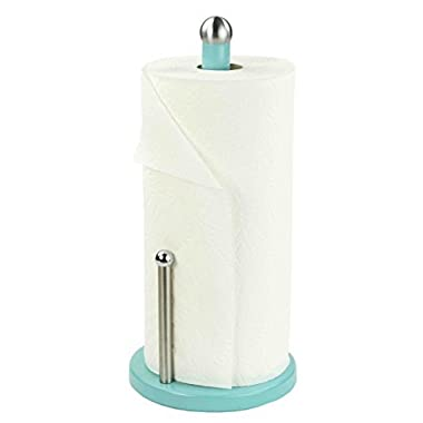 Home Basics Paper Towel Holder (Turquoise)