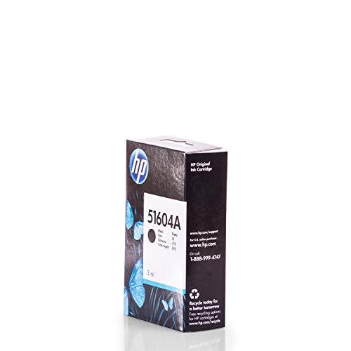 HP Original 51604A /, für BP 10 D Premium Drucker-Patrone, Schwarz, 500 Seiten, 3 ml