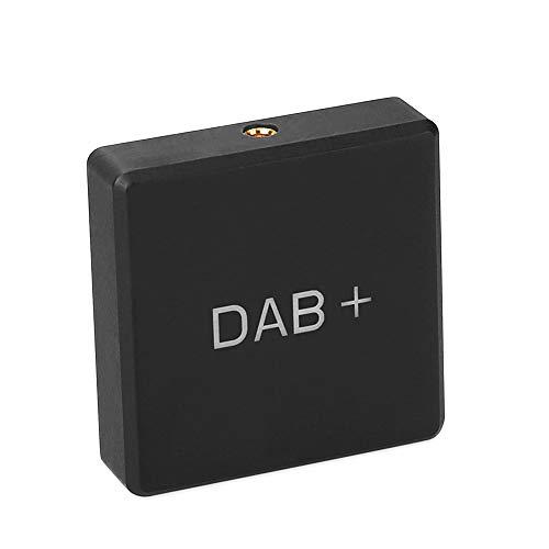 EUNAVI Car Kit Digital Audio Broadcast DAB-Empfänger mit Antenne, DAB 004 DAB + Box Digital Radio Antenna Tuner FM Transmission USB for Car Radio Android 5.1 and Above