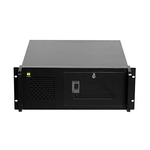 """Preisvergleich Produktbild Netrack - Netrack 19"""" / 19 Zoll Rack Server Gehäuse 4U / 4HE schwarz,  482 * 177 * 450mm"""