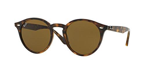 Ray Ban RB2180 710/73 49M Dark Havana/Dark Brown Sunglasses For Men For Women