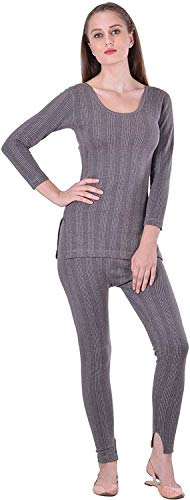 Lux Inferno Women's Cotton 3/4 Sleeves Inner Thermal Set of...