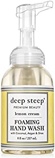 Deep Steep Foaming Hand Wash, Lemon Cream, 8 Ounce