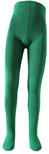 Shima Kinder Strumpfhose einfarbig Grün 110-116