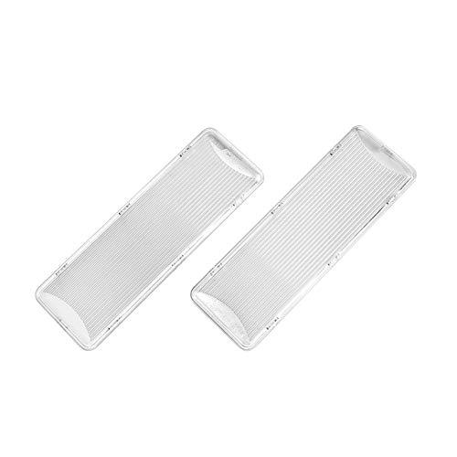 MIRTUX 2 Tapas de protección de lámpara y difusoras de luz compatibles con Campana Extractora Balay, Lynx. Medidas: 17,4x6. Código original 264984 .(Ver detalle de modelos compatibles).
