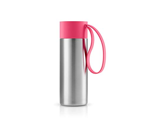 To Go Cup Thermosflasche 350ml, beerenrot Edelstahl H x Ø 20x6.5cm