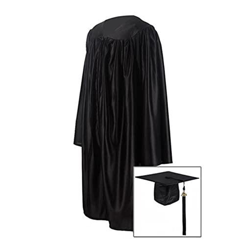 Uniformes De Graduación De Kindergarten Uniformes De Licenciatura Para Niños Uniformes De Grado Disfraces,Black-30(115-122)