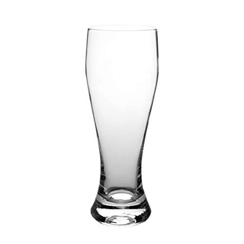 Vasos de cerveza transparentes de 540 ml, ideales para cócteles, agua, zumos y otras bebidas (tamaño: 680 ml).