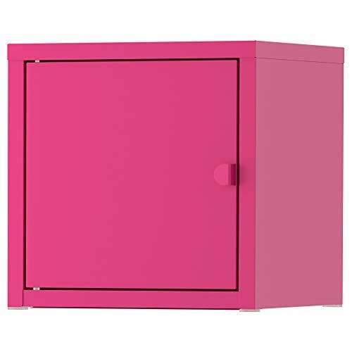 IKEA ASIA LIXHULT kast metaal roze