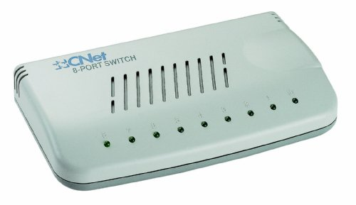 CNET 8Port 10/100 Switch