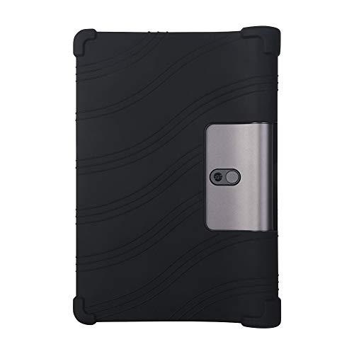 ORANXIN Funda para Lenovo Yoga Smart Tab/Yoga Tab 5 - Silicona Suave Soporte Bolsa Ligero Caucho Fundas Blandas Protector para Lenovo Yoga Smart Tab/Yoga Tab 5 YT-X705F 10.1 Pulgada 2019 Tablet