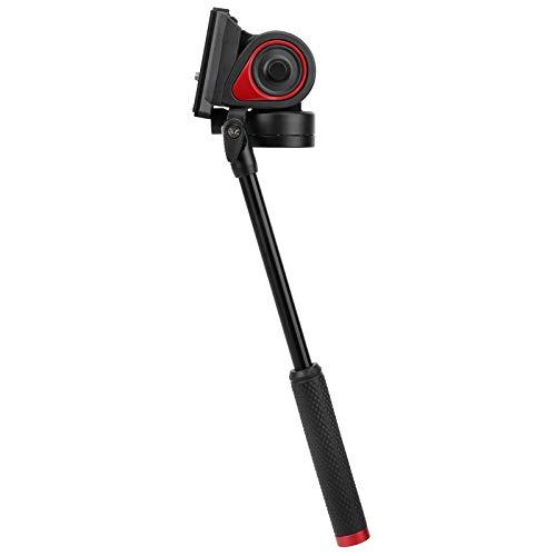 軽量油圧ボールヘッド油圧ダンピングボールヘッド+ 90°‑75°チルトシューティング、携帯電話、ミラーレスカメラ、一眼レフカメラ用