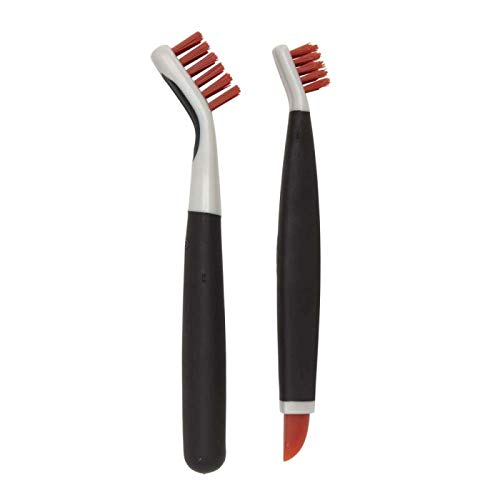 OXO 1285700 Good Grips Deep Clean Brush Set, Orange