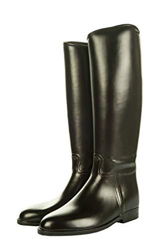 HKM Reitstiefel -Damen Standard- mit Elastikeinsatz, schwarz, 38