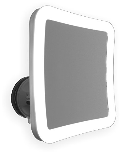 7X Lighted Makeup Mirror with Locking Suction Mount and Ball Joint...