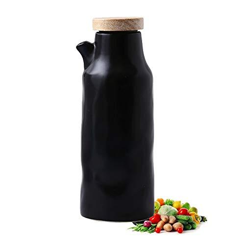 KSGH - Botella dispensadora de cerámica de vinagre de aceite, 400 ml,...