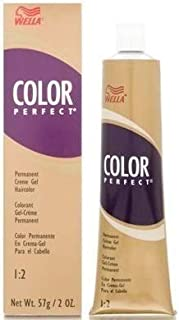 WELLA COLOR PERFECT LIGHT GOLDEN BROWN 5G 2oz (PACK OF 2)