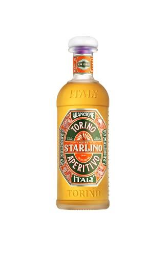 Starlino Arancione Aperitivo 17{b06769baddec92587bf5af2ea50c15882ac2a09f1fc7bcb3c55865789033cb13} Vol Alkohol - fruchtiger italienischer Wein Aperitif aus sizilianischen Blutorangen - lecker mit Tonic für den perfekten Spritz Drink oder Cocktail (1 x 0,75l Flasche)