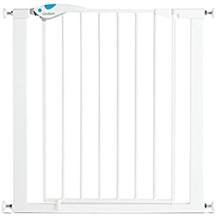Lindam Easy Fit Plus Deluxe Pressure Fit Safety Gate - 76-82 cm, White:Maxmartyn