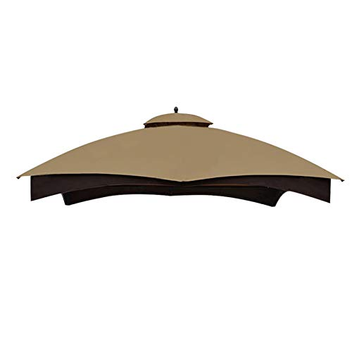 Eurmax Replacement Canopy Top for Lowe's Allen Roth 10X12 Gazebo #GF-12S004B-1,Canopy Roof Only (Khaki)