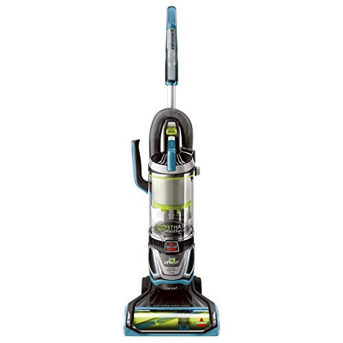 Bissell Pet Hair Eraser Lift Off Bagless Upright Vacuum, Blue (Renewed)