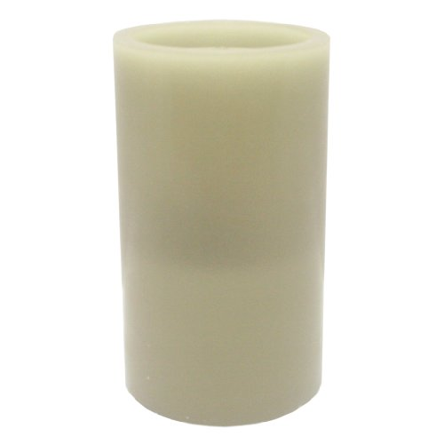 Bethlehem Lights 10082 - 5' x 8.5' Sage Straight Edge AquaFlame? LED Wax Candle Fountain Light with Timer