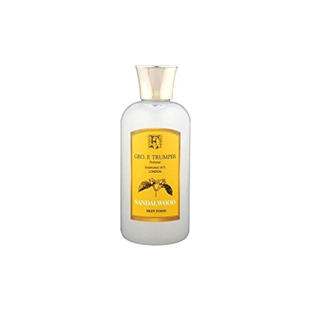 スパン放棄予報Trumpers Sandalwood Skin Food - 100ml Travel (Pack of 6) - サンダルウッドスキンフード - 100ミリリットル旅 x6 [並行輸入品]