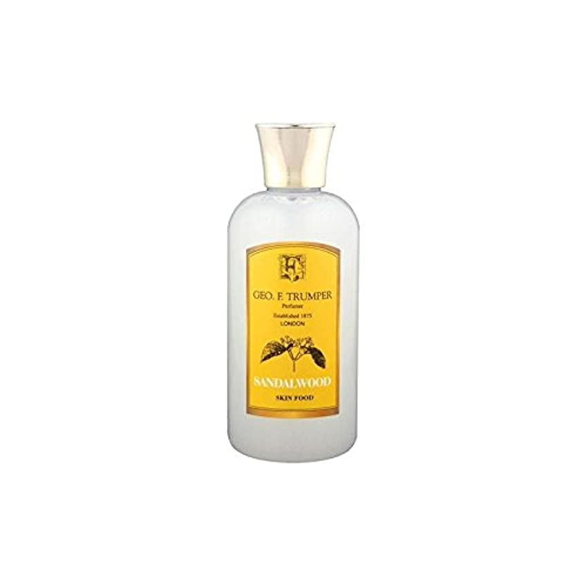 志すペルソナ集めるTrumpers Sandalwood Skin Food - 100ml Travel (Pack of 6) - サンダルウッドスキンフード - 100ミリリットル旅 x6 [並行輸入品]
