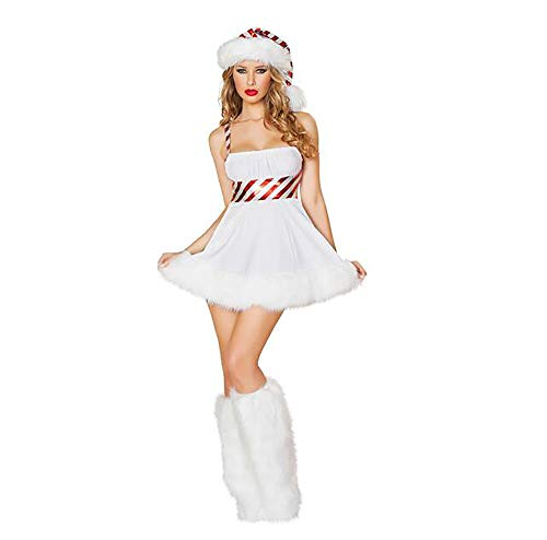 Ms. Santa Claus Role-Playing Costume Christmas Sexy Fancy Dress Adult Party Nightclub Stage Performance Costume Free Size