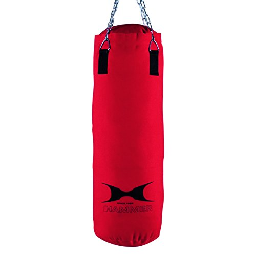 HAMMER Boxsack Home-Fit Punch, rot, 30x80 cm
