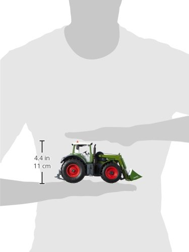 RC Auto kaufen Traktor Bild 3: Siku 6778 - Fendt 939 Vario mit Frontlader und Fernsteuermodul, Fahrzeuge mit Funktion, grün*
