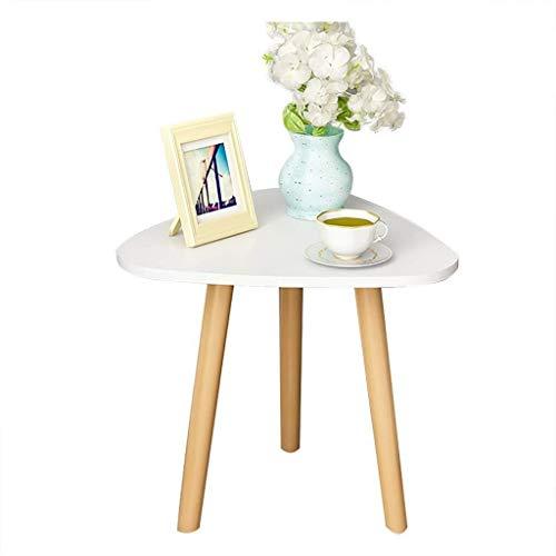 BHJqsy Couchtisch Freizeit Tisch Ecktisch Beistelltisch Couchtisch Nachttisch Massivholz Material weiß Schachteln (Size...