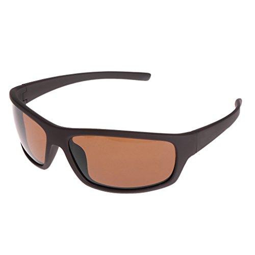 GASSDINER Gafas Pesca Ciclismo Gafas de Sol polarizadas al Aire Libre Protección Deporte UV400 Hombres