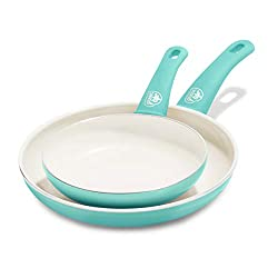 GreenLife Ceramic non-stick frying pan Turquoise